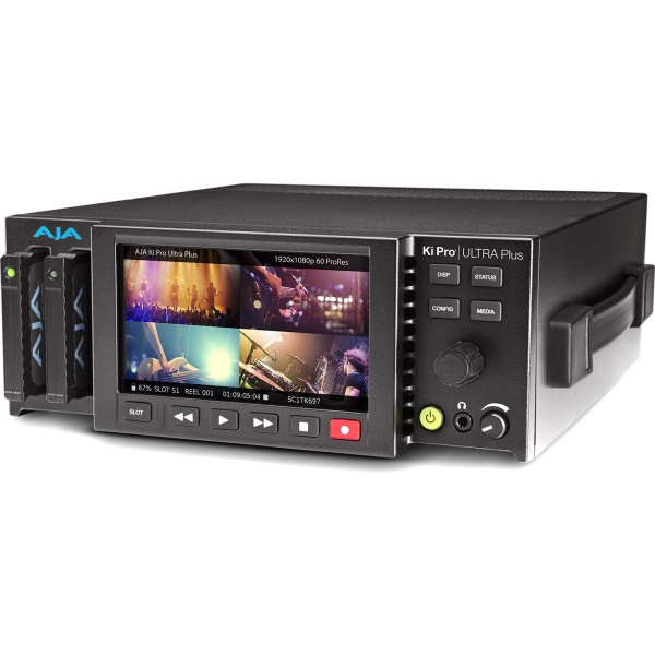RTHAV - AJA KiPro Ultra Plus 4K Recording Deck Rental