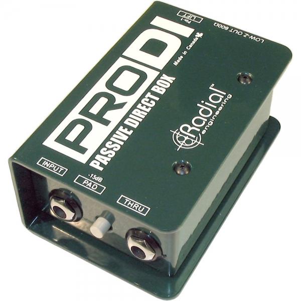 RTHAV - Radial Pro DI Audio Interface Rental