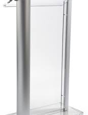 RTHAV - Acrylic Podium Lectern Rental