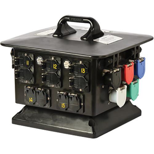 RTHAV - Lex 100A 3 Phase (15) Duplex Distro Rentals