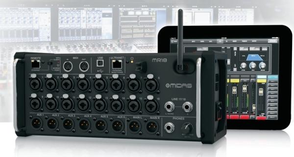 RTHAV - Midas MR18 Audio Console Rental