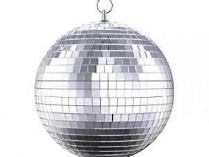 "RTHAV - Mirror Ball Disco Ball 8"" Rental"