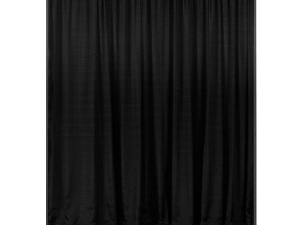RTHAV - Pipe and Drape Black - Per Foot Rental