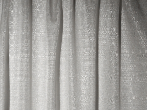 RTHAV - Pipe and Drape Silver - Per Foot Rental