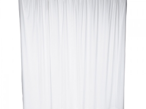 RTHAV - Pipe and Drape White - Per Foot Rental