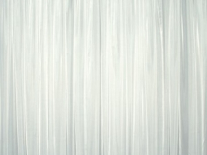 RTHAV - Pipe and Drape White Sheer - Per Foot Rental