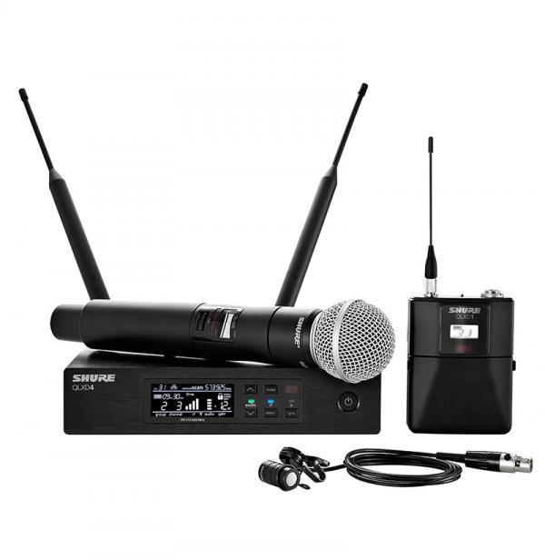 RTHAV - Shure QLX Wireless Microphone Rentals