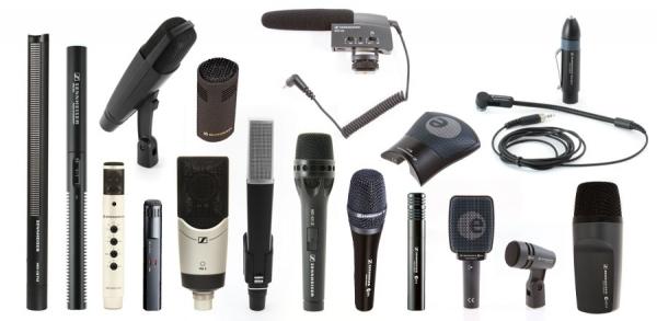 RTHAV - Wired Microphones - Various Sennheiser Microphone Rental