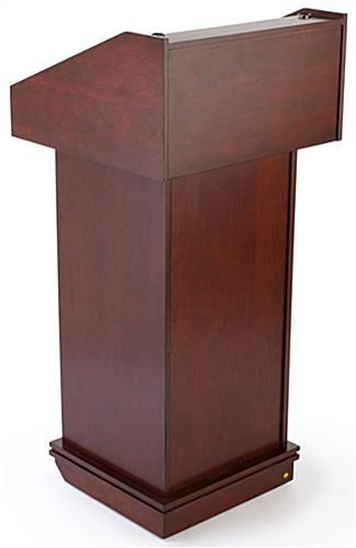RTHAV - Wood Podium Lectern Rental