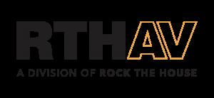 Rock The House Audio Visual - Small Logo